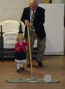 evie sweeping