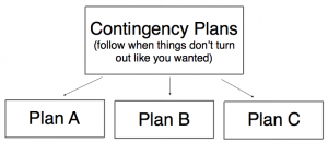 Contingency Plan Flow Chart