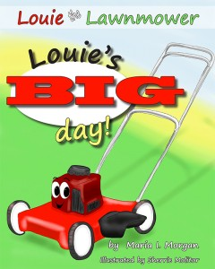 Louie Lawnmower Front Cover for Kindle export