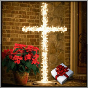 christmas cross_with_border